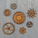 Prima Marketing - Mechanicals - Rusty Gears